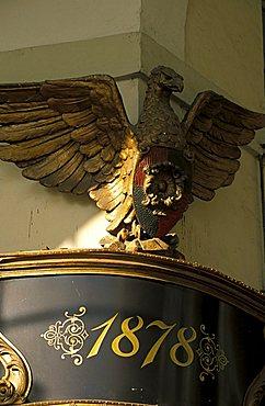 Particular of Vittorio Veneto café, Turin, Piedmont, Italy.