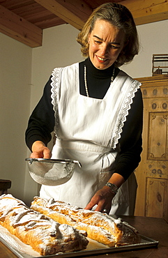 Barbara Hausler confectioner, Vipiteno, Trentino Alto Adige, Italy.