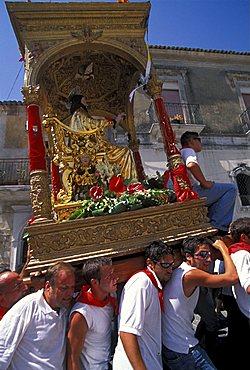 San Bartolomeo feast, Giarratana, Sicily, Italy