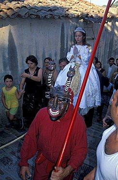 Santa Sucia feast, Savoca, Sicily, Italy