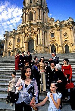 San Giorgio church, Modica, Sicily, Italy