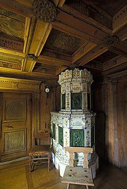 Engiadinais museum, Sankt-Moritz, Engadina, Switzerland, Europe