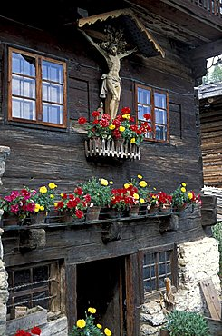 House in Val d'Ultimo, Stelvio National Park, Alto Adige, Italy