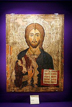 Byzantine Museum, Kikkos Monastery, Troodos Mountains, Cyprus Island, Greece, Europe