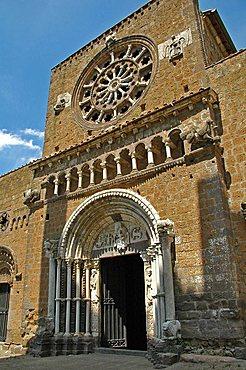 Santa Maria church, Tuscania, Lazio, Italy