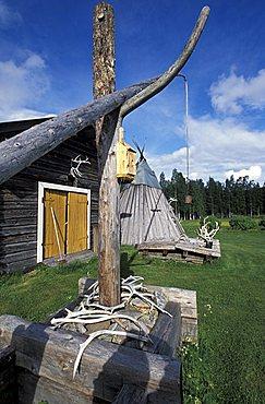 Sammuntupa (ancient farm), Levi, Lappland, Finland, Europe