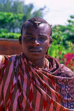 Young Masai, Zanzibar, Tanzania, East Africa, Africa