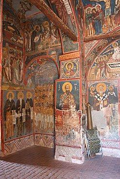 Asinou  Byzantine Church, Troodos Mountains, Cyprus Island, Greece, Europe