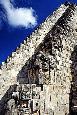 Uxmal, Yucatan, Mexico, Central  America, America