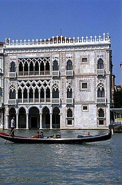 Ca' d'Oro palace, Venice, Veneto, Italy