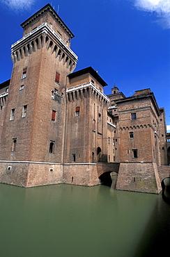 Este Castle, Ferrara,  Emilia-Romagna, Italy