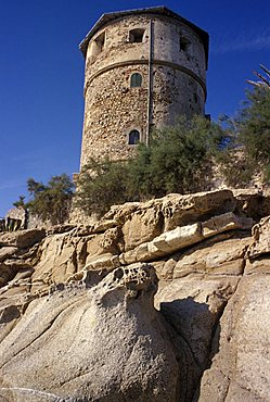 Medicea tower, Campese, Isola del Giglio, Tuscany, Italy