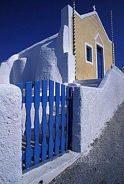 Church, Oia, Santorini island, Greece, Europe