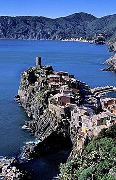 Landscape, Vernazza, Ligury, Italy