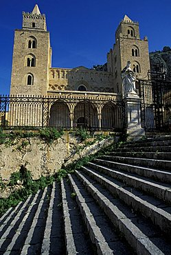 Cathedral, Cefalu', Sicily, Italy