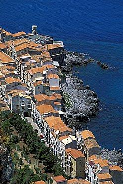 Seaside, Cefalu', Sicily, Italy