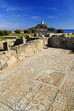 Nora Roman ruins, Pula, Sardinia, Italy, Europe