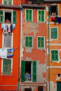 House, Riomaggiore, Liguria, Italy, Europe