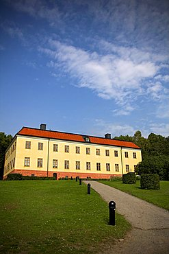 Edsberg castle, Sollentuna municipality situated by Edsviken lake, Sweden, Nordic Country, Scandinavia, Europe