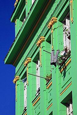 Houses, La Habana Vieja, Havana, Cuba, West Indies, Central America