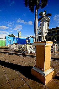 Plaza Mayor, Trinidad, Cuba, West Indies, Central America