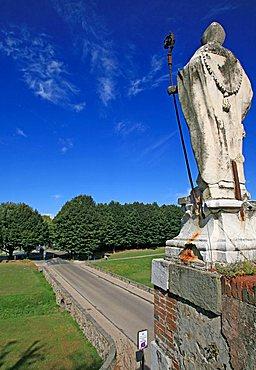 San Donato city gate, Lucca, Tuscany, Italy, Europe