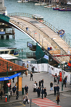 New Calatrava bridge, Venice, Veneto, Italy, Europe
