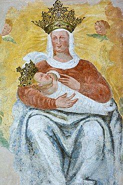 Madonna d'Erbia sanctuary, Casnigo, Lombardy, Italy
