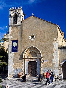 Church of Sant'Agostino, Taormina, Sicily, Italy
