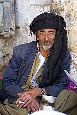 Yemenite man, Al Tawila, Yemen, Middle East