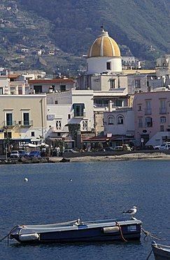 Port of Forio, Ischia, Campania, Italy.