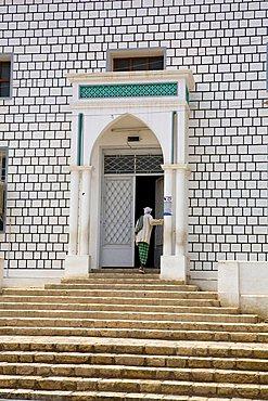 Mosque, Tarim, Yemen, Middle East