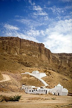 Mohammed Issa Mosque, Tarim outskirts, Yemen, Middle East