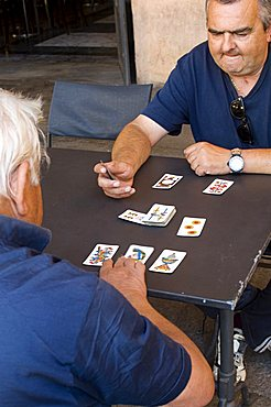 Playing cards, Modena, Italy