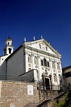 Church, San Michele all'Adige, Trentino, Italy