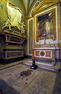 Santa Chiara church, Naples, Campania, Italy