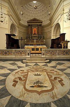Santa Maria a mare church, Maiori, Campania, Italy.