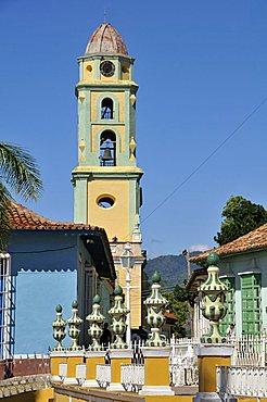 Iglesia y convento de San Francisco, Trinidad, Cuba, West Indies, Central America