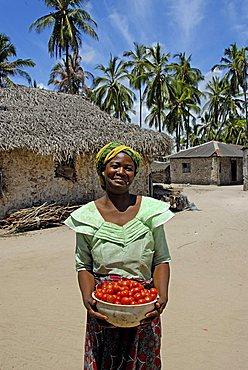 Woman, Zanzibar, United Republic of Tanzania, Africa