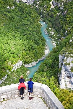 Grand Canyon of Verdon, Verdon Gorge,  Alpes de Haute Provence, France