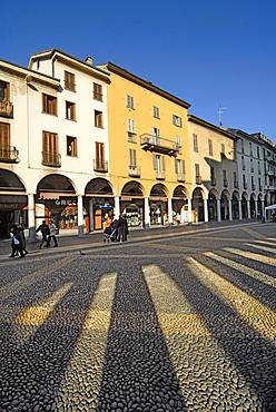 Piazza della Repubblica, Novara, Piedmont, Italy
