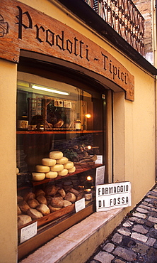 Typical product, San Leo, Pesaro and Urbino province, Marche, Italy
