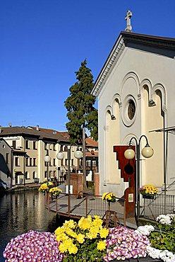 Omegna, Orta lake, Piedmont, Italy