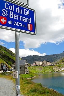 Passo del Gran San Bernardo, Gran San Bernardo Valley, Aosta Valley, Italy