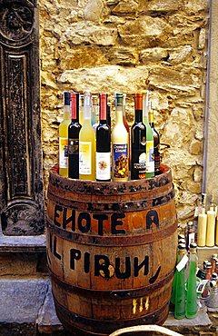 Corniglia, wine shop, Cinque Terre national Park, Liguria, Italia