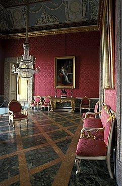 Murat hall, Reggia di Caserta, Caserta, Campania, Italy