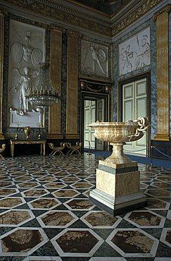 Marte hall, Reggia di Caserta, Caserta, Campania, Italy