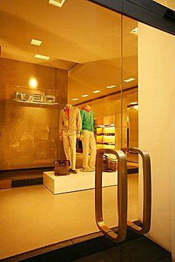 Malo shop entrance, Via della Spiga 27, Milan, Lombardy, Italy, Europe