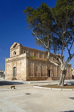 Cathedral of Santa Maria, Tratalias, Sulcis, Iglesiente, Carbonia, Iglesias, Sardinia, Italy