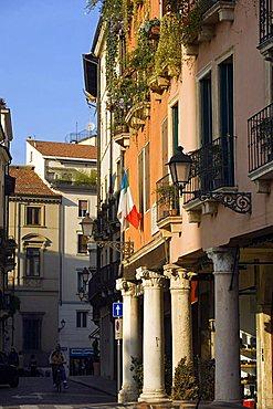 Square Biade, Vicenza, Veneto, Italy